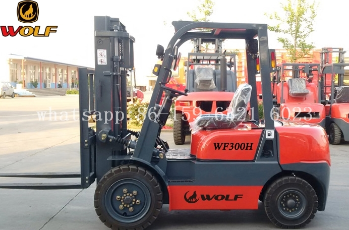 Hot sale 3 ton capacity forklift small forklift in Europe