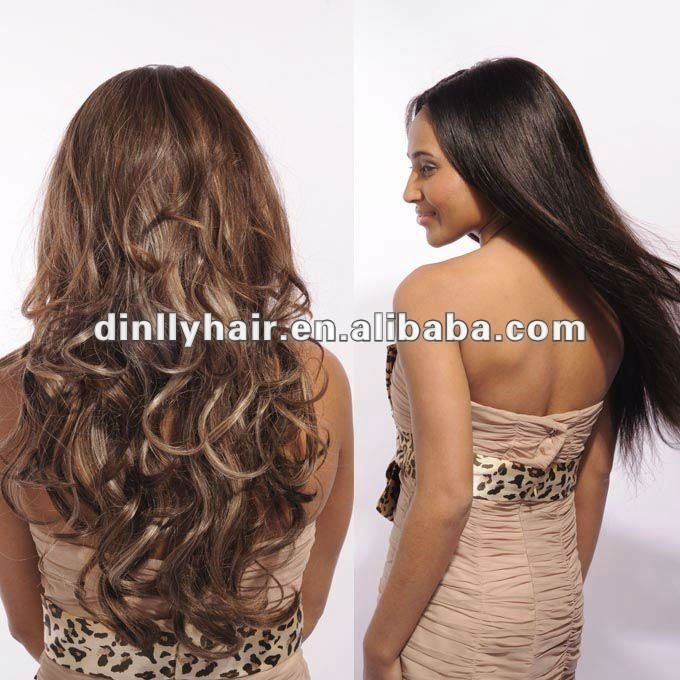 2012 hot christmas gifts silky straight christmas wigs hair