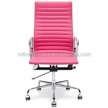 Pink Leather Executive Office Chair For Lady Rf S071d   Buy Pink Executive  Office Chair,Pink Leather Executive Office Chair,Pink Leather Executive ...