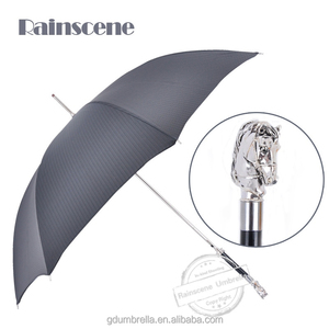 High-class Long Handle Windproof Animal Head Umbrella