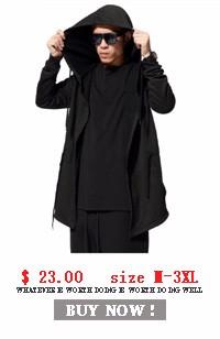 0762c533e9 2019 Wholesale 2016 Summer Long Thin Men Hoody Sweatshirts Cool Boys ...