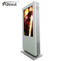 1500 cd/m2 outdoor lcd kiosk truck video display outdoor body kiosk outdoor