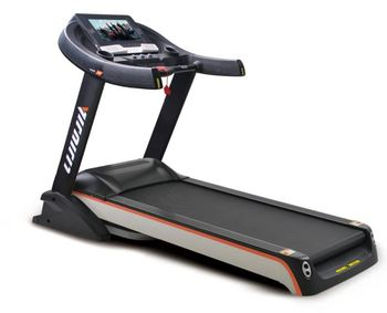 Gym Fitness Equipment Motorized 15% Slope Adjustable High Quality Commercial Treadmill