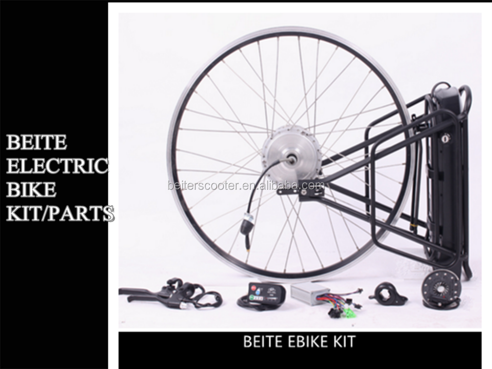 Beite 36V 350W Electric bike conversion kit spare parts with motor battery PAS