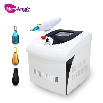 Hot sale portable q switched nd yag laser tattoo removal machine price