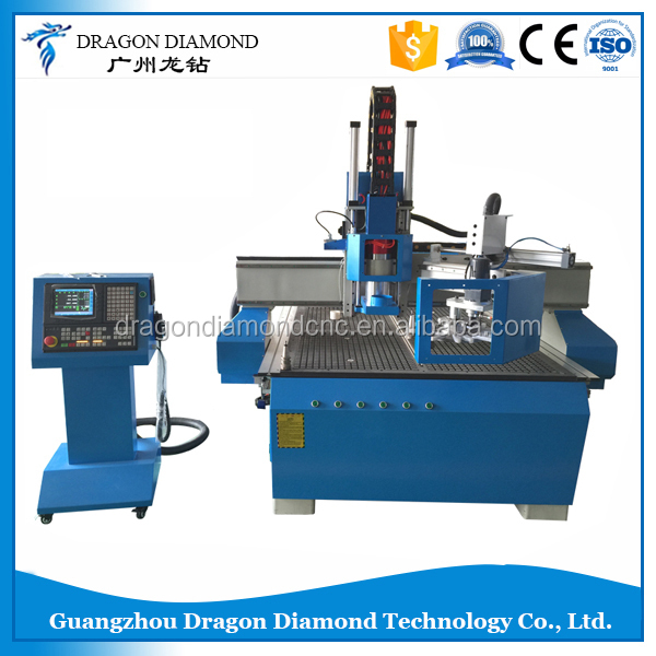 Brand New ATC 4ft By 8ft Automatic Tools Changing CNC Router Machine For Plywood And Wood Furniture
