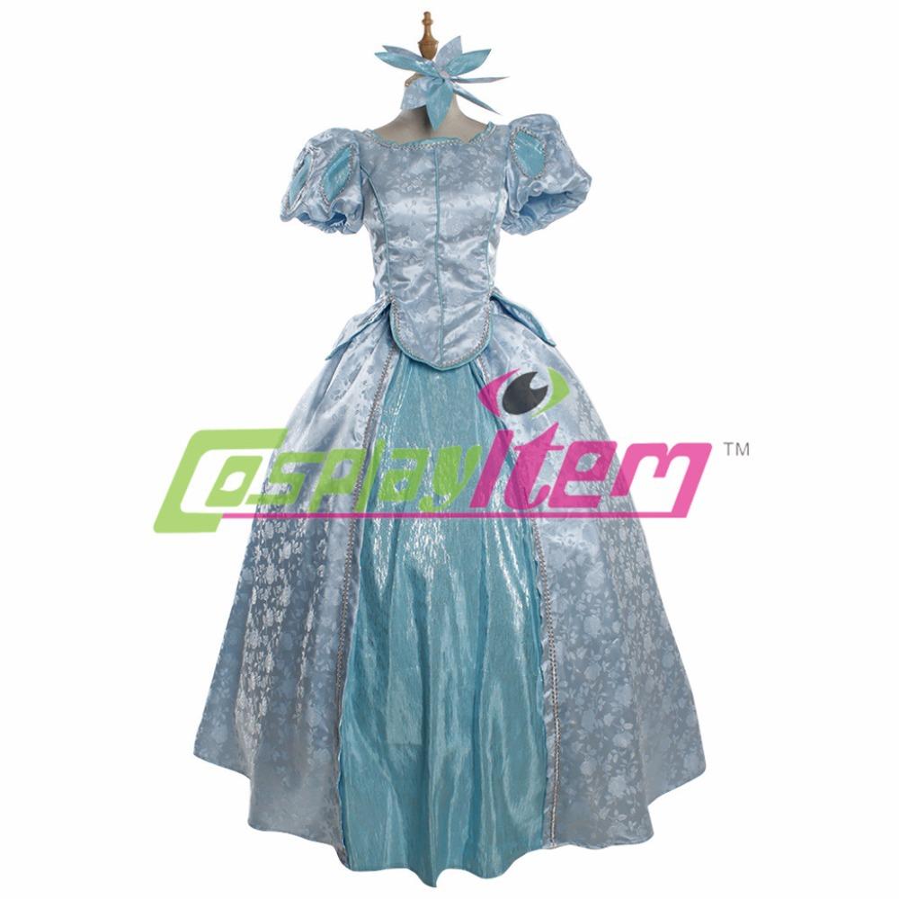 Halloween costume disney mermaid mermaid princess prom dress sexy costumes  children paternity suit