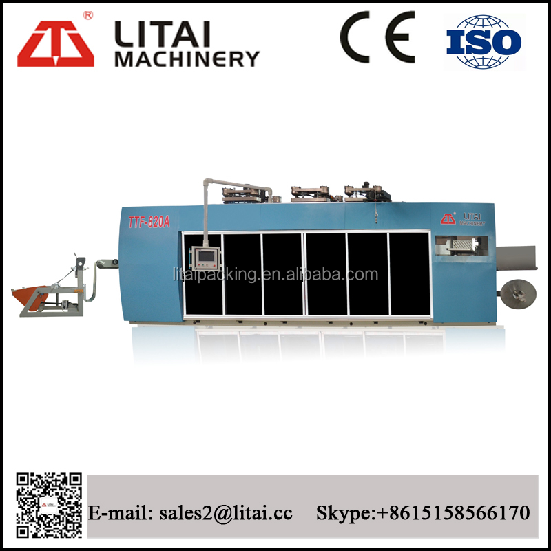 TTF-820A Four -Station Plastic thermoforming Machine