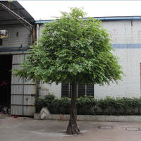 Landscaping 5 meters/16ft high cheap artificial big banyan tree ficus tree