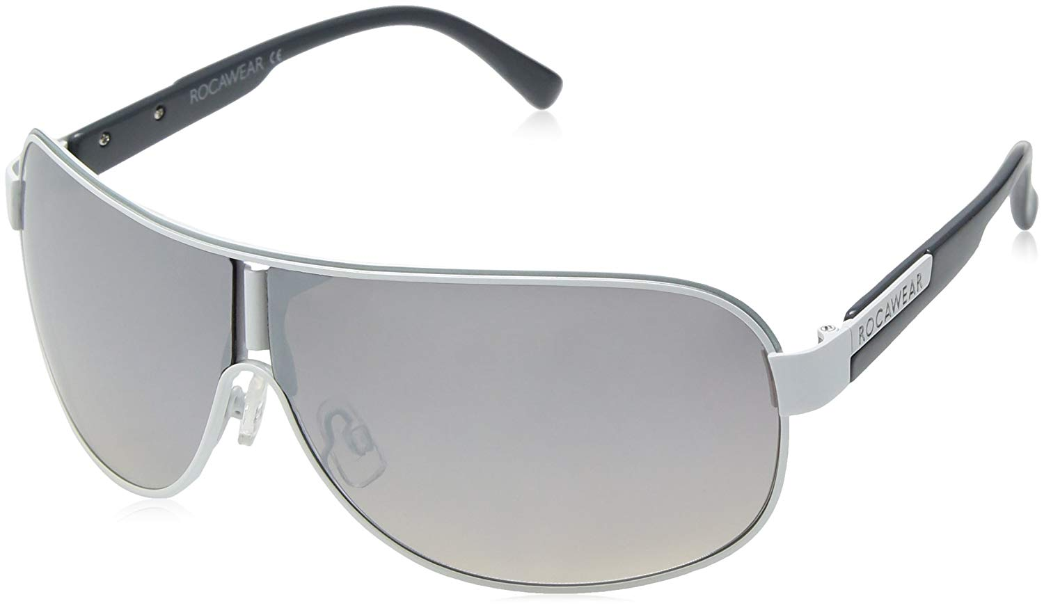 1767e6eac810a Get Quotations · Rocawear Men s R1396 Whslv Shield Sunglasses