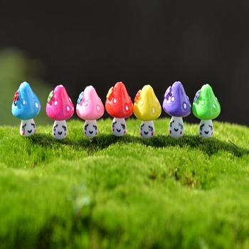 Mushroom Terrarium Decor Miniature Terrarium Toadstool Pixie Gnome