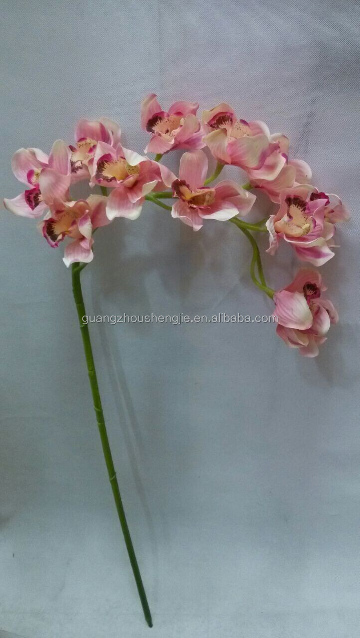 High quality artificial orchid flower makingartificial silk high quality artificial orchid flower makingartificial silk artificial orchid flowers made in china dhlflorist Gallery