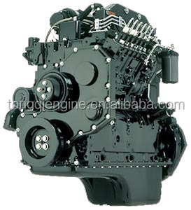92KW 3.9L EQB125-20 DIESEL engine assembly for Bus