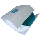 OEM custom hard cardboard folded gift box printing factory from China