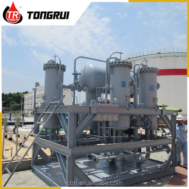 Sinopec standard waste hydraulic oil purification recycling system
