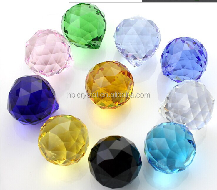 Mixed Color Crystal Ball Chandelier Light K9 Crystal Chandelier ...
