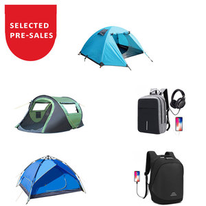 ! PRE-SALES ACTIVITY! 2.22-3.22 MOQ 1 ! Outdoor Sports Water Resistant Anti Theft Backpack Pop up Boat Tent for Camping