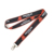 Hot Sale Polyester Lanyard and Color Gradient Sublimation Lanyard