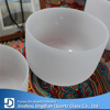 7pcs One Set Quartz Frosted Crystal Singing Bowls with C D E F G A B Note