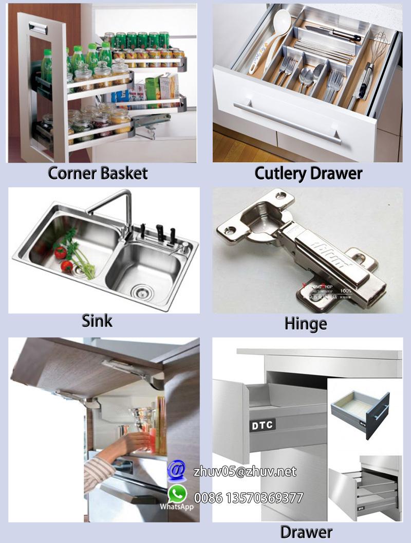 Muebles De Cocina Modulares Fabricante En La India - Buy Product on ...