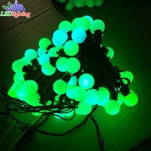 Outdoor Kreative Innen Dekoration Festival Baum Licht Vintage Globus String Licht, 40mm led big ball string licht