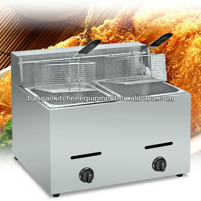 Gas deep fryer/KFC Chicken frying machine/Donut fryer BN-72
