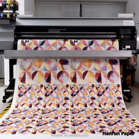 80GSM sublimacion transfer paper for fashion garment/home decor/advertising/MS, REGGIANI---40-55GSM/MIMAKI TS34-1800/ E PSON etc