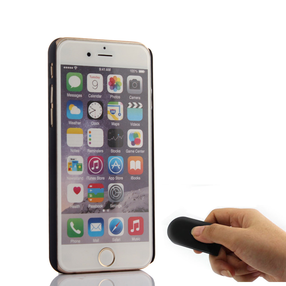 Hot Bluetooth monopod selfie stick Mobile phone case for iphone 6