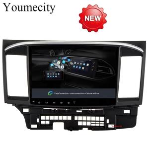 Youmecity Android 8.1 Car Head Unit Headunit for MITSUBISHI LANCER Radio GPS Stereo Audio Multimedia Dvd Player wifi +2G RAM RDS