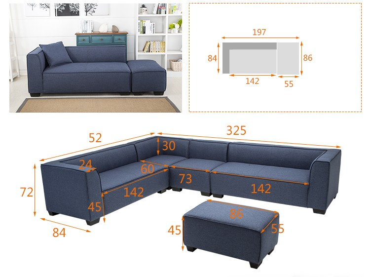 Home Furniture Chinese Supply To America Small Corner Sofa Zoy 90170 Buy Modern Corner Sofa