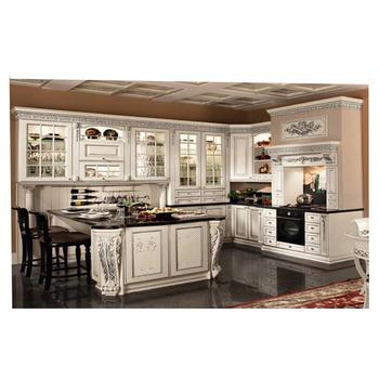 European Style solid wood kitchen cabinet side panelkitchen cabinet organizer  sc 1 st  Alibaba & European Style Solid Wood Kitchen Cabinet Side PanelKitchen Cabinet ...