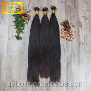 Bolin hair extension prodcuts,shed-free full cuticle unprocessed wholesale hair bundle
