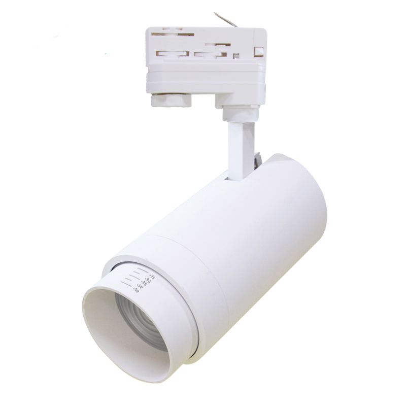 40W  UGR<13 RA90 LED Ceiling Light,Dimmable COB Spotlight LED Track Light