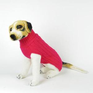 Three hemp rope pet sweater