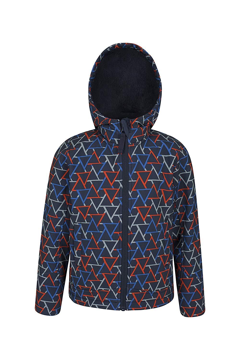 cba6a31ed979 Get Quotations · Mountain Warehouse Arctic Printed Kids Softshell Jacket