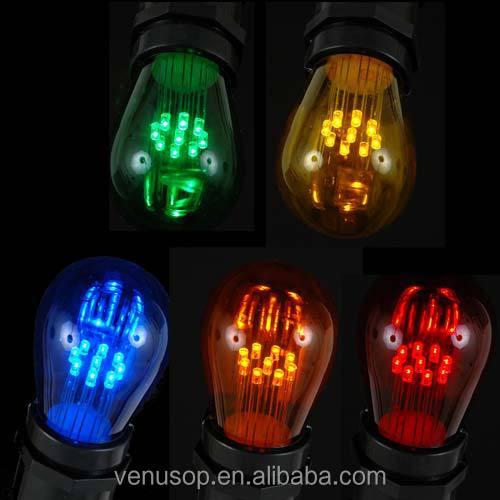 Etl E27 Chrismas Light String Led Bulb Waterproof 48 Feet E26 ...