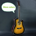 More Colors Electro Acoustic Electric Folk Pop Flattop Guitar 41 Inch Guitarra 6 String Blue Black