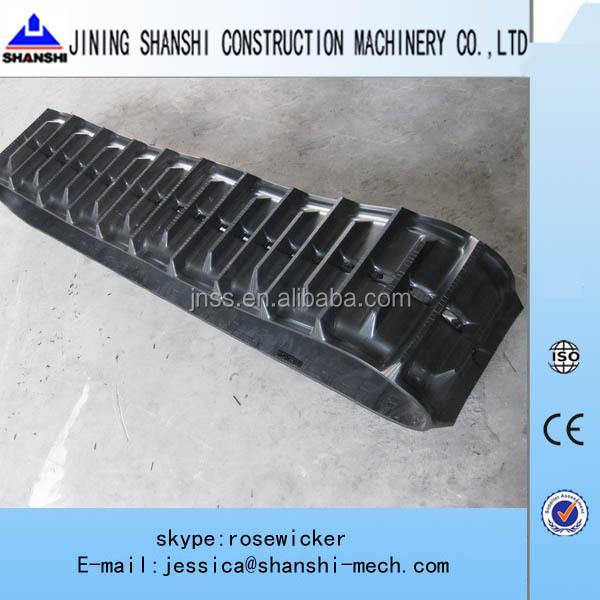 180x72x37 Daewoo Solar 007 Rubber Tracks Solar 7 Solar 10 Mini Excavator