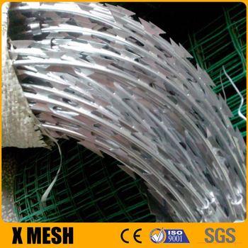 Anti-temperature Softness Galvanized Razor Wire Gloves For ...