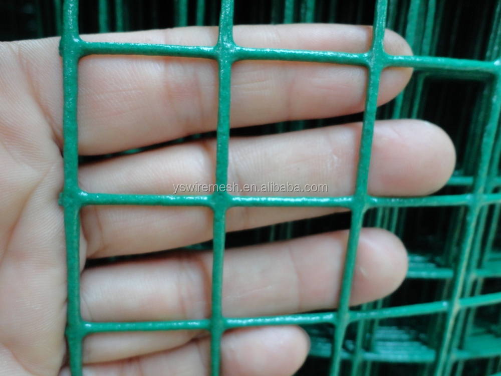 Pvc Coated Welded Wire Mesh | Pvc Coated Green Color 1x1 Welded Wire Mesh Buy 1x1 Welded Wire