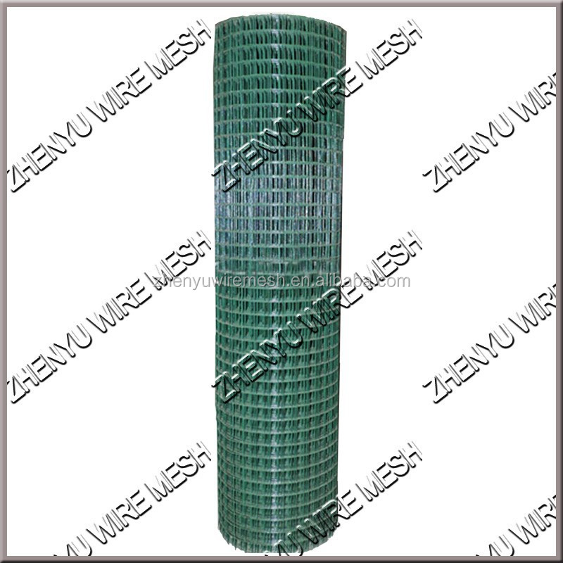 0.7/1.5mm Green/ Black Vinyl Coated Welded Wire Mesh 1x1 Inch Pvc ...