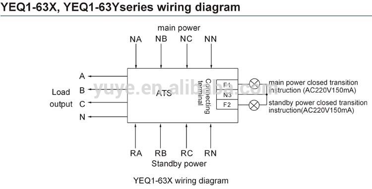 HTB14oQlFVXXXXcyXVXXq6xXFXXXK yeq1 63 automatic transfer switch in circuit breaker auto 4-pole transfer switch wiring diagram at gsmportal.co