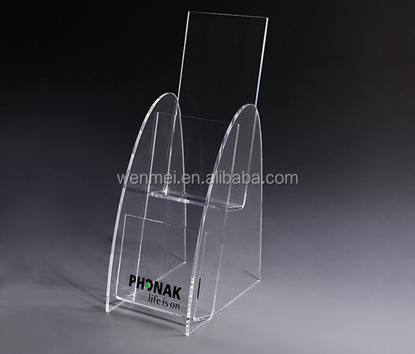 tabletop acrylic paper holder