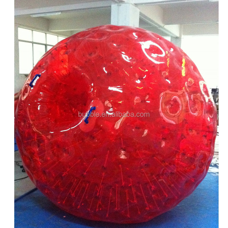 exciting zorb race game inflatable human hamster ball from Bubbles