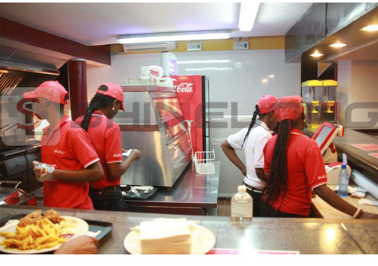 Congo DFC Fast Food Restaurant Kitchen Project