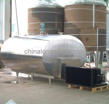 Sanitary stainless steel direct cooling milk tank