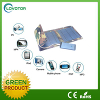 China Factory price wholesale CE approved solar cell phone charger 7W