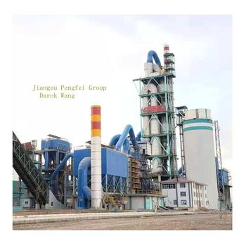 300tpd cement plant producing clinker and 42.5 portland cement
