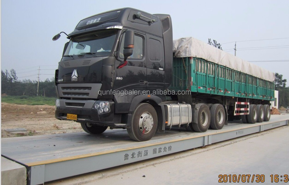 100ton truck <strong>scale</strong> 3x16m size/ 10-200ton digital weighbridge