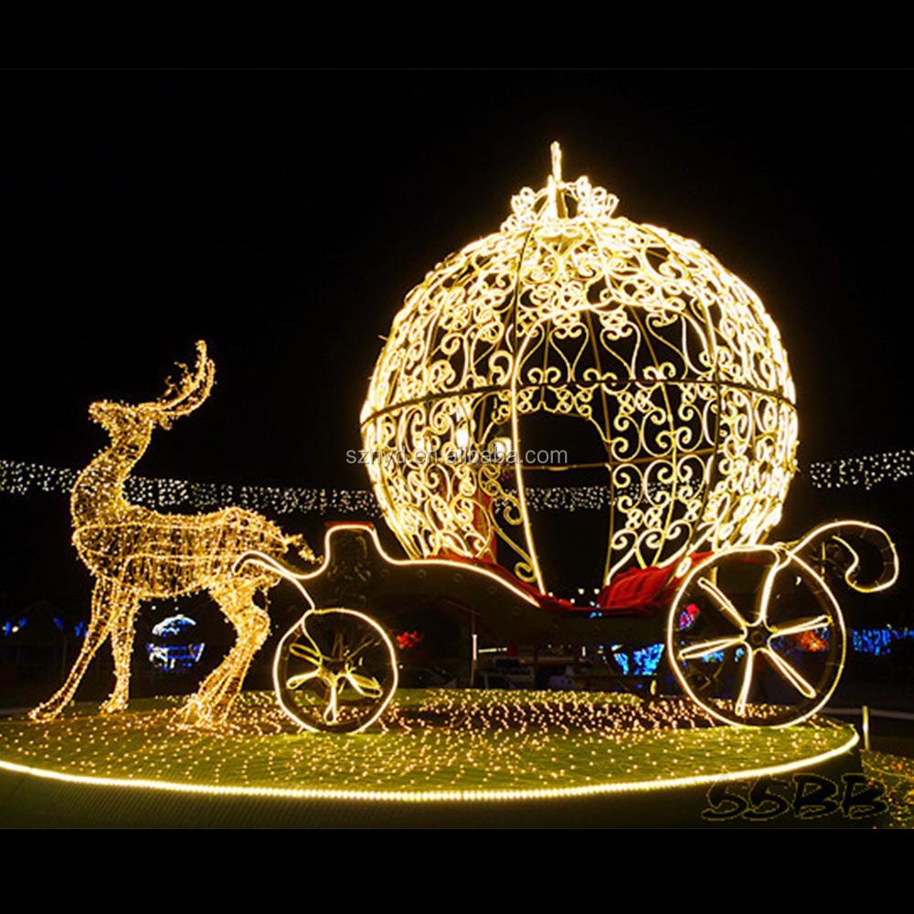 High Quality Dazzling Christmas Light Christmas Reindeer